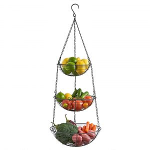 3 Tier Wire Hanging Basket
